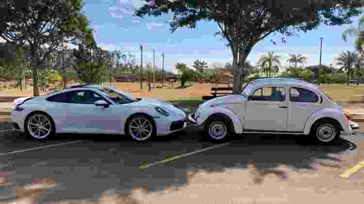 Fusca Itamar Porsche 911 - Arquivo pessoal - Arquivo pessoal