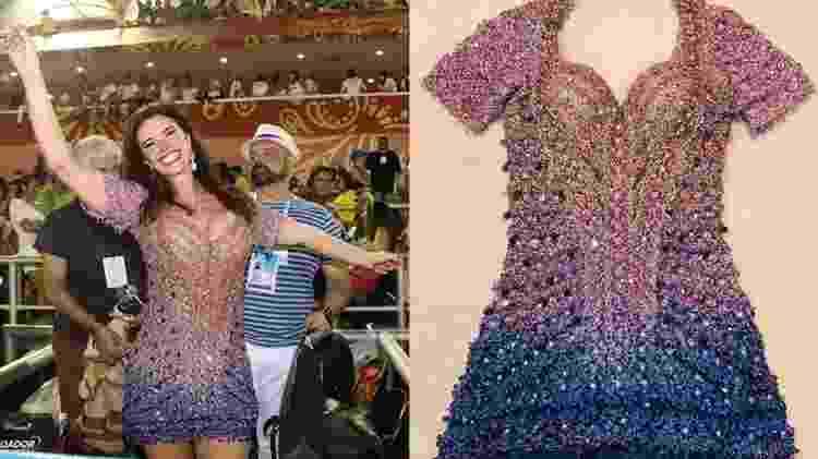 Luma de Oliveira no Carnaval 2020 - Reprodução - Reprodução