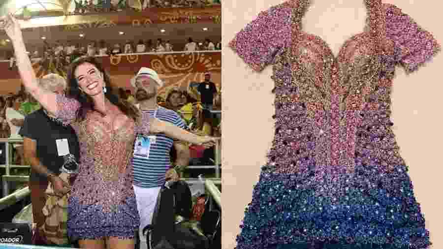 Luma de Oliveira vende look usado no Carnaval 2020 - Reprodução