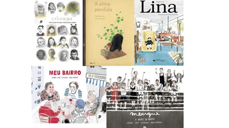 Livros infantis - Reprodução - Reprodução