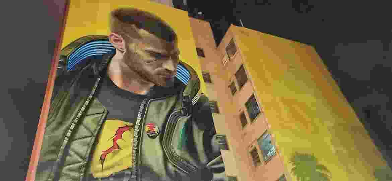 Arte de Cyberpunk foi feita em dois prédios em São Paulo - Reprodução/START