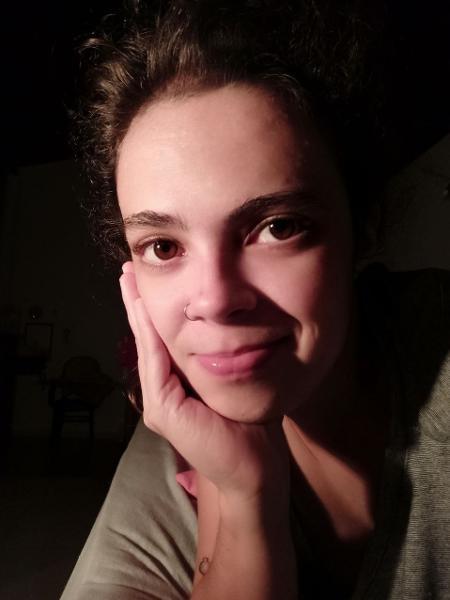 A designer Claudia Baccile - Arquivo pessoal