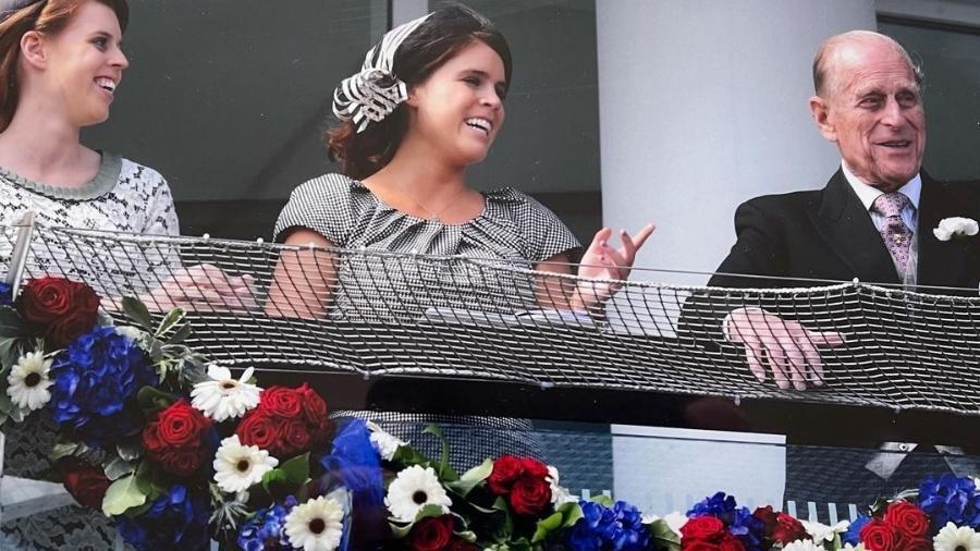 Princess Eugenie homenageia o avô, Príncipe Philip - Reprodução/Instagram