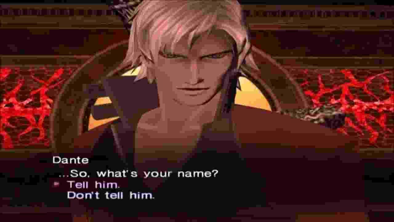 Dante em Shin Megami Tensei 3: Nocturne - Reprodução