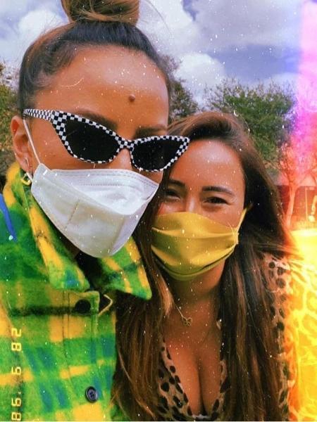 Sabrina Sato e a irmã, Karina - Reprodução / Instagram