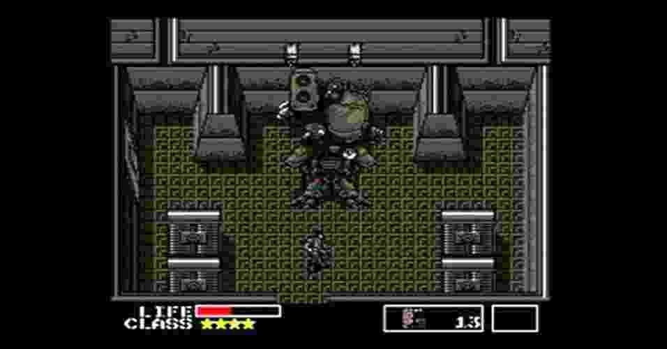 """O primeiro """"Metal Gear"""", de MSX, inaugurou o gênero de jogos de espionagem e apresentou o mundo a Solid Snake - Divulgação"""