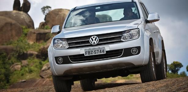 Amarok é único modelo de passeio da Volks vendido no Brasil com motor a diesel -