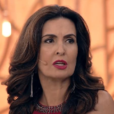 Fátima Bernardes critica Doria por apagar grafites em São Paulo - Reprodução/TV Globo