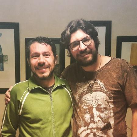 """Rômulo e Ilmar fazem as pazes após trocarem farpas no """"BBB"""" - Reprodução/Instagram/romulonevesof"""