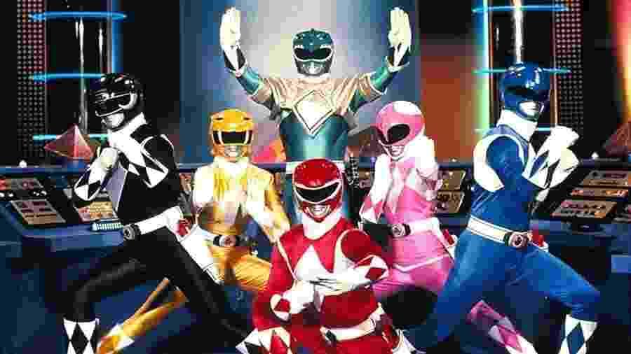 """""""Power Rangers"""" vai ganhar uma nova encarnação no cinema e na TV - Reprodução"""