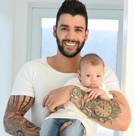 Gusttavo Lima e Gabriel - Reprodução/Instagram/andressasuita
