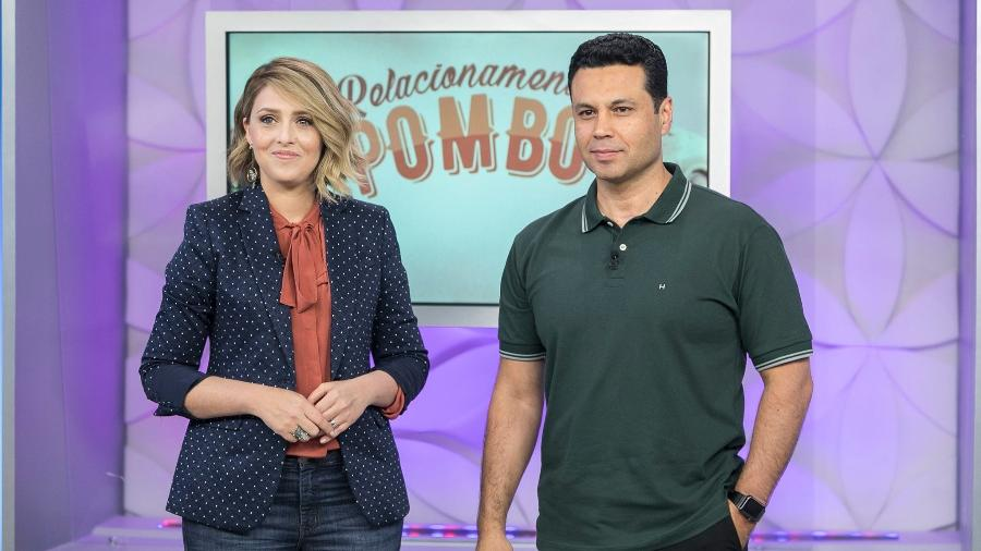 """Cristiane e Renato Cardoso comandam o programa """"Escola do Amor"""", na Record TV - Divulgação / Record TV"""