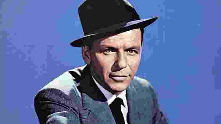 O cantor Frank Sinatra - Reprodução - Reprodução