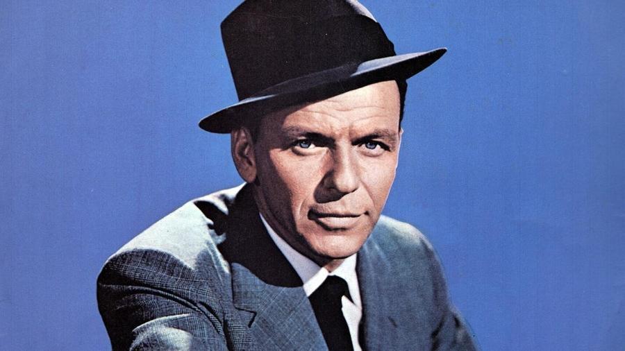 O cantor Frank Sinatra - Reprodução