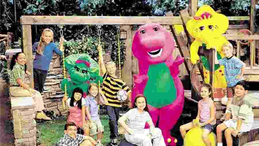Barney e seus amigos - Divulgação