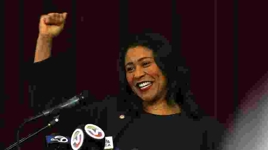 London Breed fica no cargo até 2020 - Getty Images