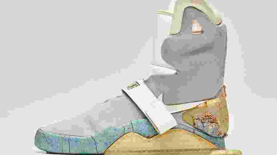 Tênis usado por Michel J. Fox foi leiloado - Nike Mag 1989 - Reprodução