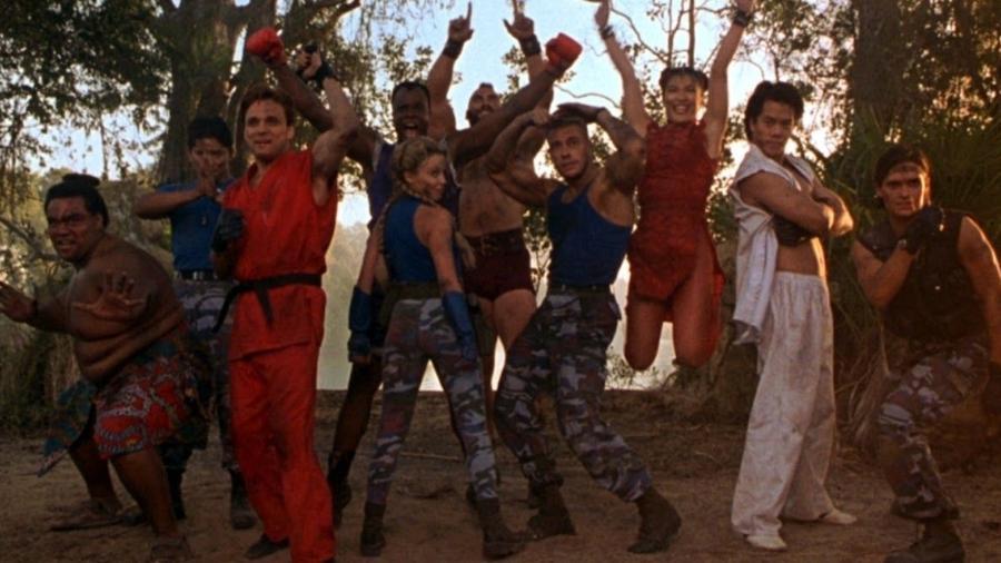 """Cena do filme """"Street Fighter"""", com Jean Claude Van Damme - Divulgação"""