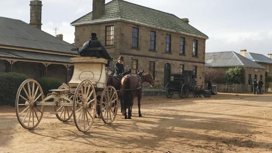 "Cena de ""The Nightingale"", faroeste da australiana Jennifer Kent  - Reprodução"