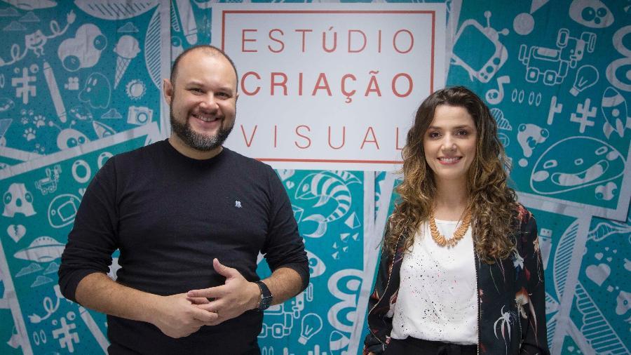 Marcelo do Ó e Camila Quirino  - Divulgação