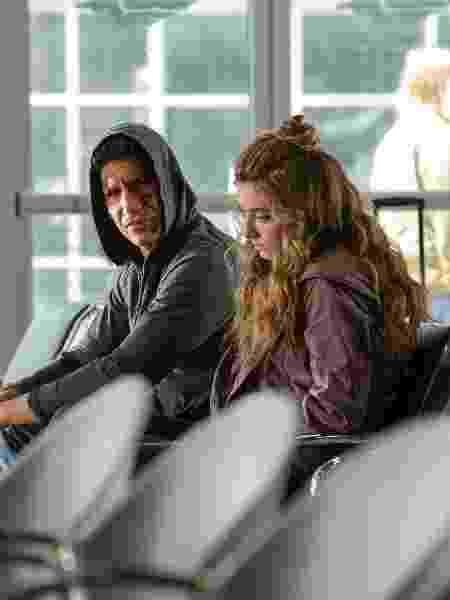 Frank Castle (Jon Bernthal) e Amy (Giorgia Whigham)  - Cara Howe/Netflix - Cara Howe/Netflix