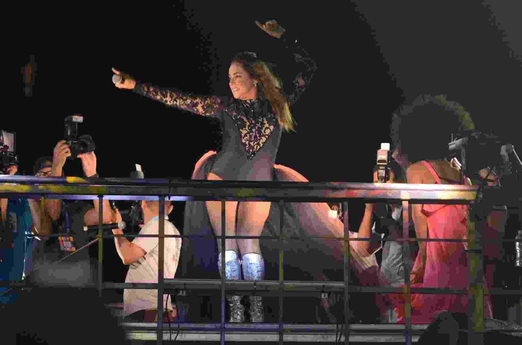 Daniela Mercury se apresenta no primeiro dia do Carnaval de Salvador - Webert Belicio/Ag News