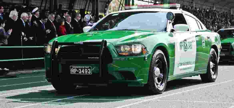 Polícia chilena comprou 229 viaturas Dodge Charger em 2016 - Reprodução