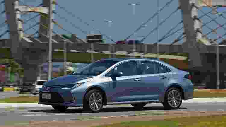 Toyota Corolla Altis Hybrid - Murilo Góes/UOL - Murilo Góes/UOL