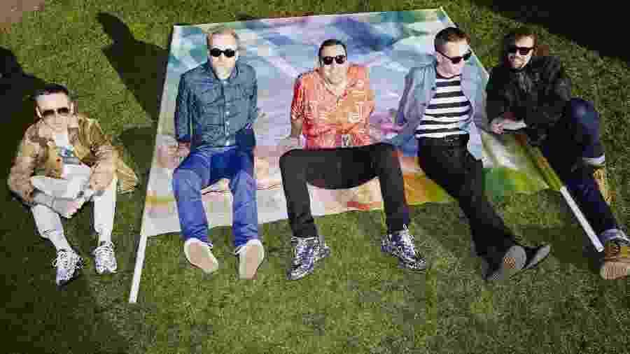 A banda inglesa Hot Chip - Divulgação