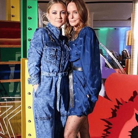 A atriz Kate Hudson e a estilista Stella McCartney - Reprodução/Instagram/Candiani