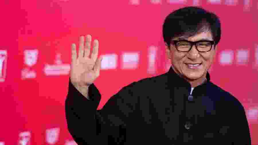O ator Jackie Chan - AFP / JOHANNES EISELE