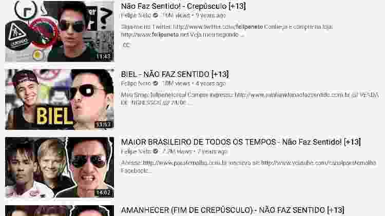 felipe neto - reprodução/YouTube - reprodução/YouTube