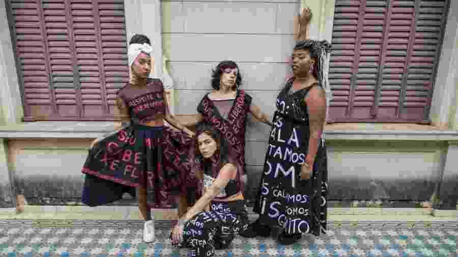 O Slam das Minas é um movimento para dar protagonismo e substituir o medo pela liberdade de ocupar, com arte, espaços na cidade - Renata Armelin