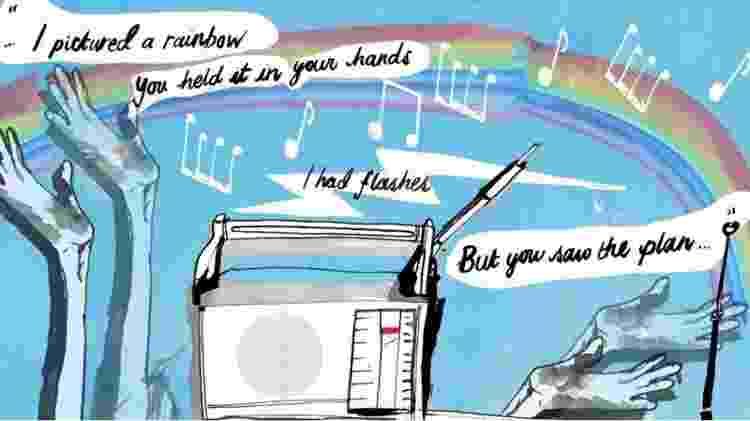 Ilustração música - Katie Horwich - Katie Horwich
