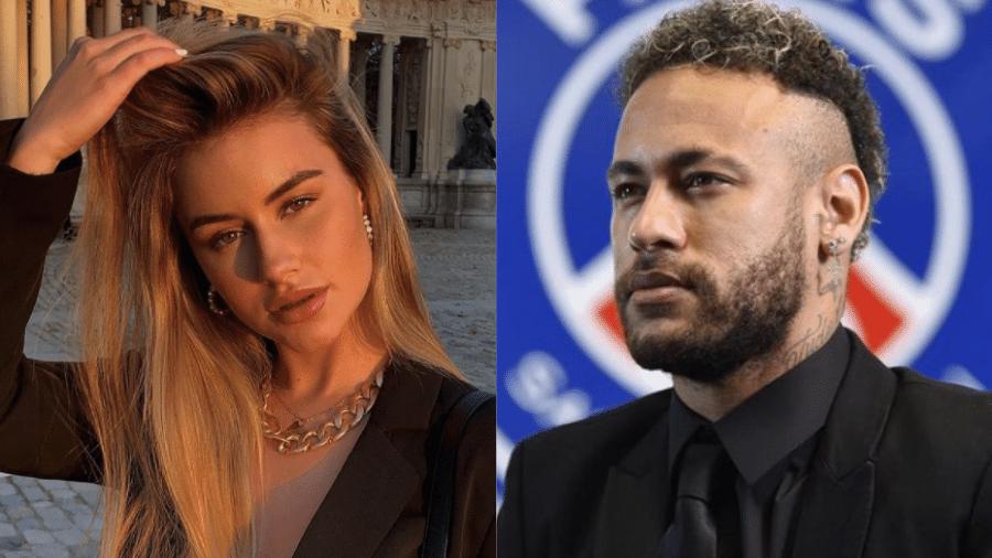 Influenciadora espanhola Abril Cols fala sobre relação com Neymar