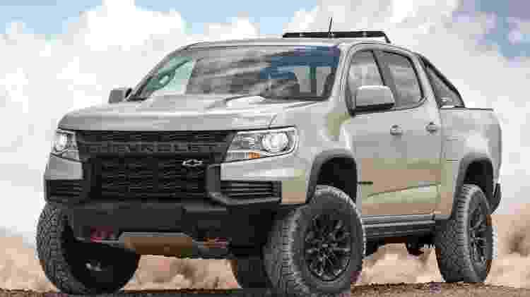Chevrolet Colorado ZR2 - Divulgação - Divulgação