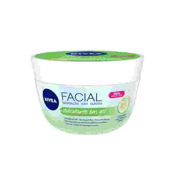 Hidratante facial em gel Fresh, Nivea. R$ 31,49 - Divulgação - Divulgação