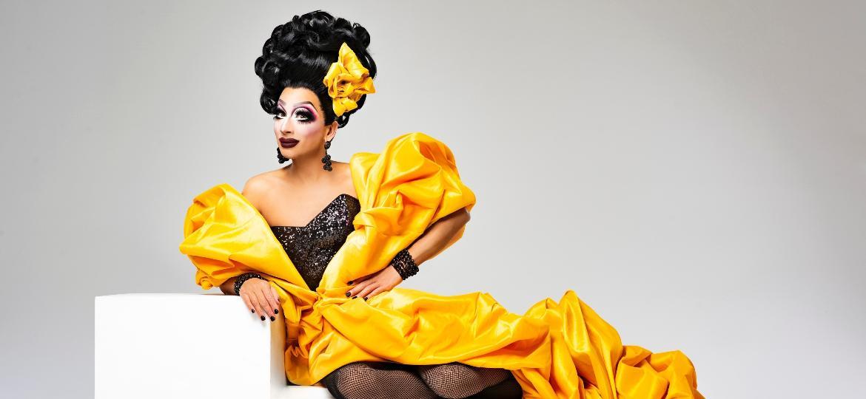 Bianca Del Rio fala em entrevista para Nossa sobre como a moda faz parte de sua carreira e as apresentações no Brasil, em 2022 - Divulgação
