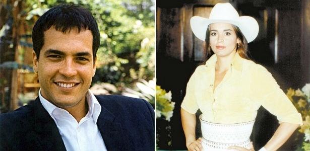 Suzy Rêgo e Daniel Boaventura estrelaram a novela