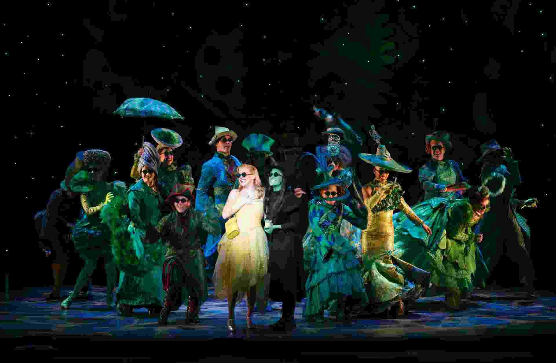 """Musical """"Wicked"""" estreia no Brasil dia 4 de março no Teatro Renault - Joan Marcus"""