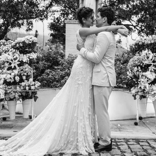 7.dez.2015 - No dia seguinte à cerimônia de casamento, Sophie Charlotte declarou-se ao marido, Daniel de Oliveira, no Instagram: