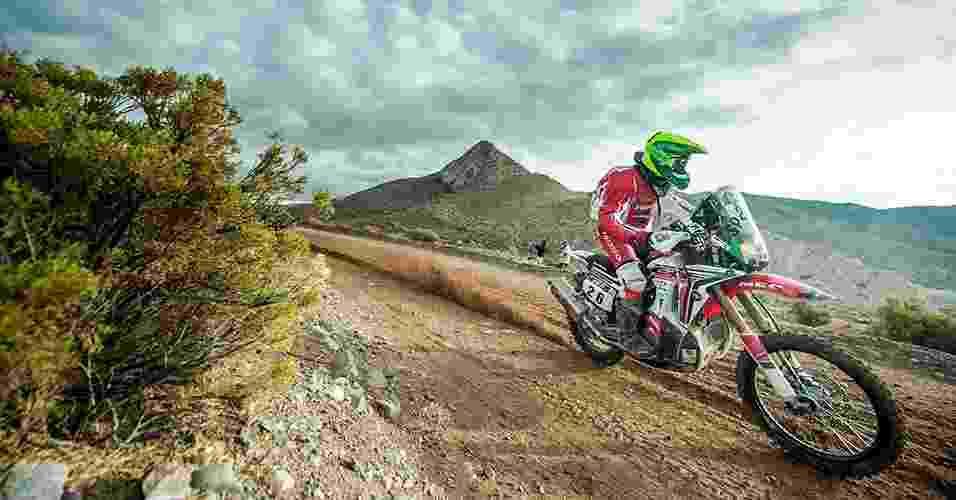 Honda CRF 450 Rally - Gustavo Epifanio/FotoP