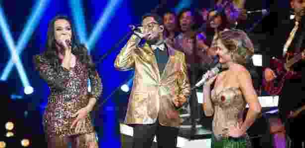 """Pabllo Vittar e Regis Paulino, da """"Serial Funkers"""" são os novos vocalistas da banda do """"Amor & Sexo"""" - Divulgação/TV Globo - Divulgação/TV Globo"""