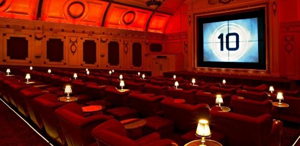 O Electric Cinema fica no bairro de Notting Hill, em Londres - Divulgação/Electric Cinema