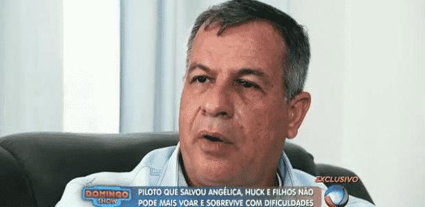Piloto Osmar Frattini vive em dificuldades financeiras pós-acidente aéreo - Reprodução/TV Record