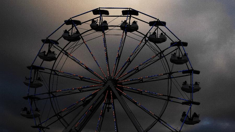 Última edição do Lollapalooza Brasil que teve roda-gigante foi a de 2016 - Reinaldo Canato/UOL