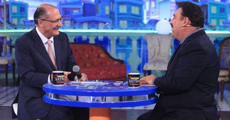 21.set.2016 - Geraldo Alckmin em entrevista ao Ratinho