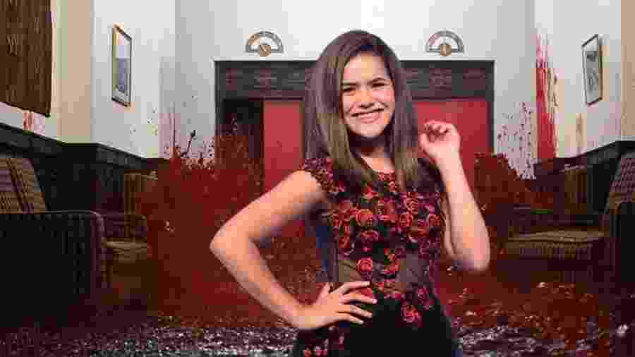 Maisa é uma adolescente, mas já ensinou uma boa lição no Twitter - Fotomontagem/Divulgação