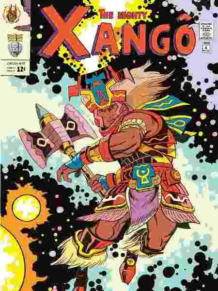 """""""The Might Xangô"""" ou """"O Poderoso Xangô"""": Homenagem a Jack Kirby deu origem ao projeto - Divulgação"""