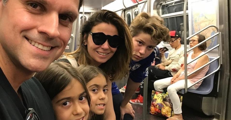 Giovanna Antonelli férias com filhos
